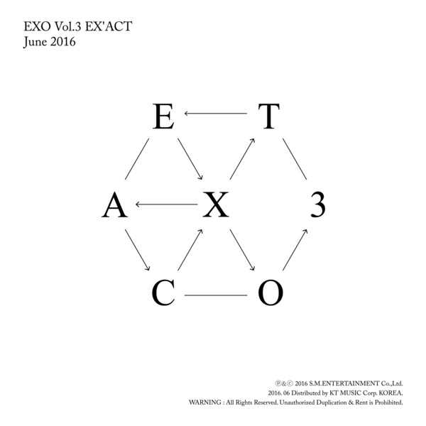 EX'ACT - The 3rd Album 앨범