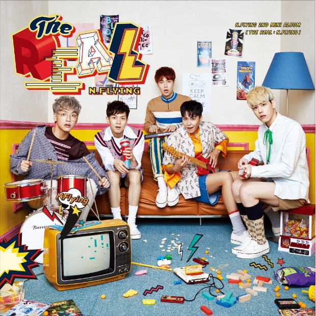 N.Flying 2nd Mini Album 'THE REAL : N.Flying' 앨범