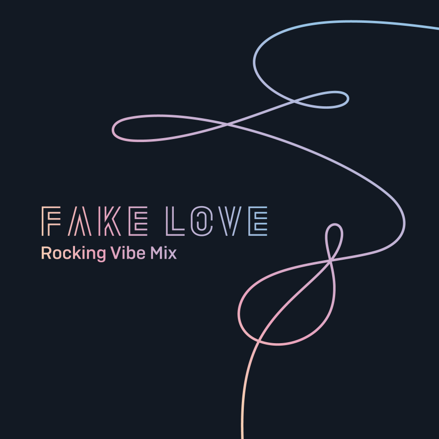 FAKE LOVE (Rocking Vibe Mix) 앨범