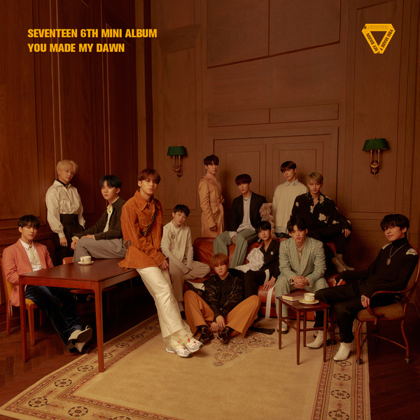 SEVENTEEN 6TH MINI ALBUM 'YOU MADE MY DAWN' 앨범